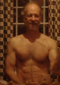 70th birthday after gaining 12 pounds, not exercising for 11 days and no crunches for 5 months—4/6/11