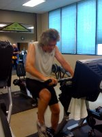 David Dougherty Cycling the Miles—7/1/09