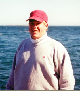 Peter Houldin in 1994 at 284 pounds