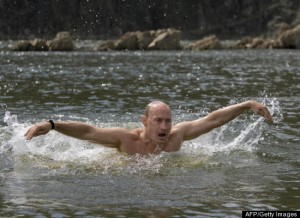 putin butterflying—great arms