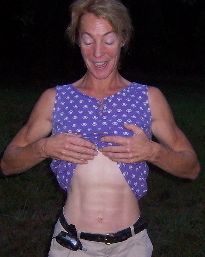 fiona&#039;s abs came from horseriding and farm chores2007