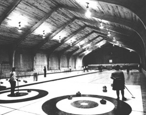 Broomstones Curling Club—historic photo