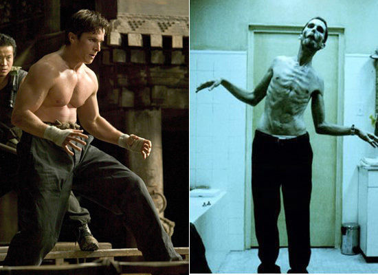 Christian Bale's stunning body transformations (part 6 of the celeb series)