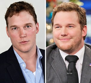 Chris Pratt gained 60 lbs over six months for a movie role
