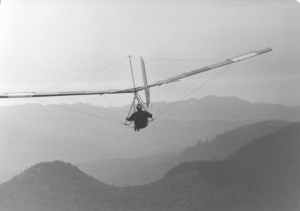 Robert Doornick was one of the first hang gliders—1970s