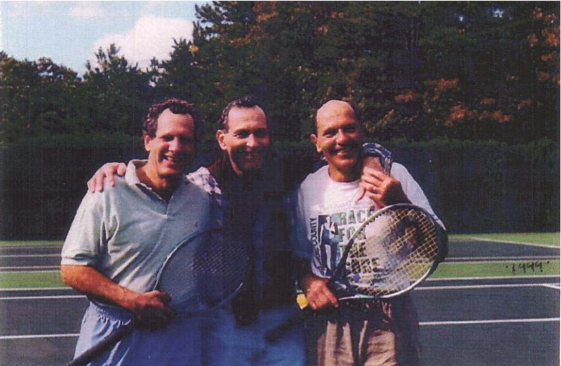(left to right) Clifford, Richard and Stephen Cooper—1999