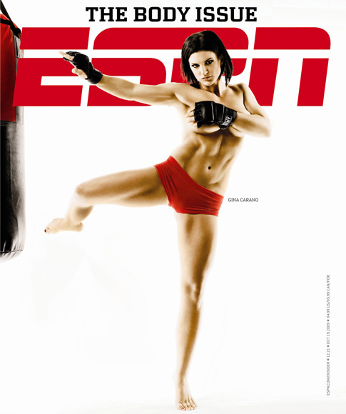 mixed martial arts top female fighter, gina carano—10/09