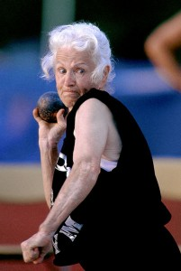 shotputter Margaret Hinton