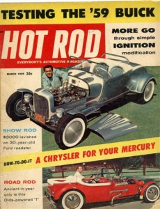 Hot Rod Magazine, March 1959