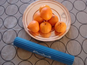 Therma-Band still life with oranges