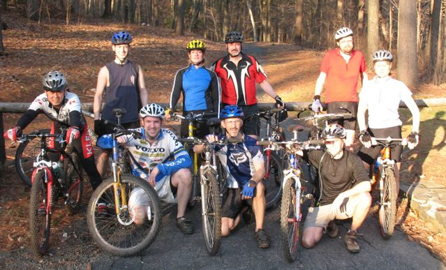 With friends at Pennwood—1/1/06