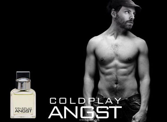 abs in Coldplay fake fragrance ad—4/1/10