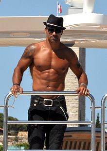 Shemar at Canne