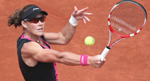 Sam Stosur really has arms