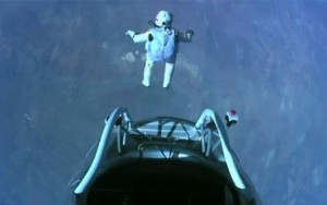 jumping from 24 miles up