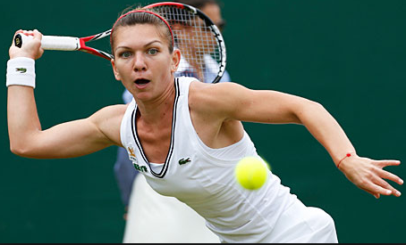 Simona Halep post-surgery